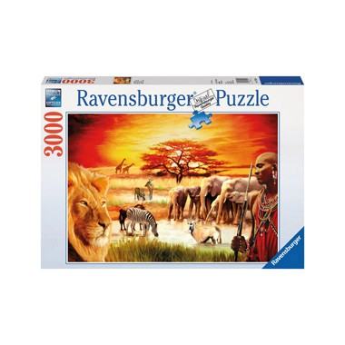 puzzel trotse Masai