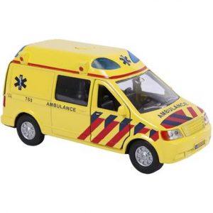 en met ambulance licht