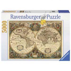 wereldkaart puzzel