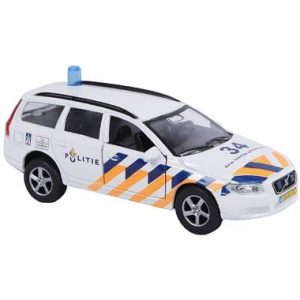 met politieauto licht