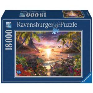 puzzel zonsondergang