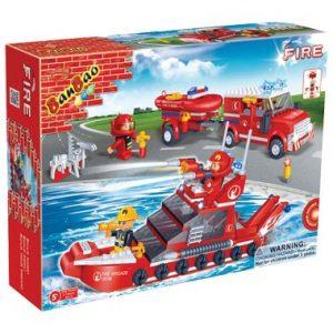 de  in brandweerboot