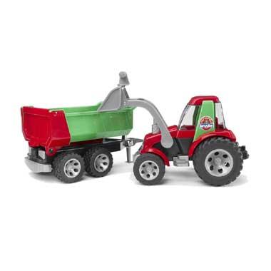 tractor met voorladdaar