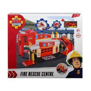 met in brandweerkazerne