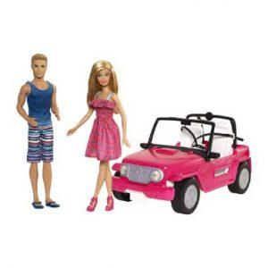 auto Barbie Poppen