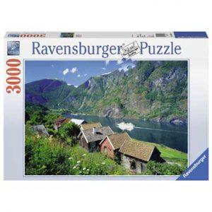 puzzel uitdaging Sognefjord