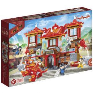 tempel BanBao  Bouwen