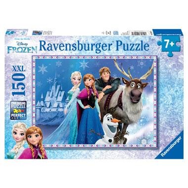 de puzzel XXL met kasteel