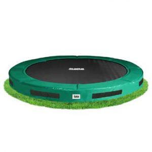 verlaagde trampoline