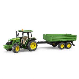 tractor met Werkvoertuigen