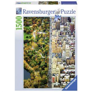 puzzel stad Gescheiden