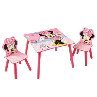 tafel met Mouse Minnie