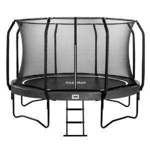en veiligheidsnet trampoline
