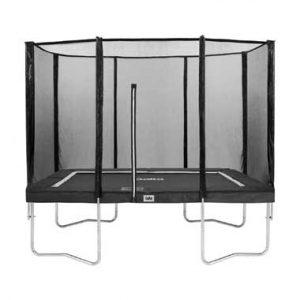 trampoline x met  veiligheidsnet