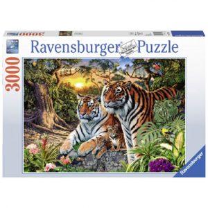 puzzel tijgers verborgen