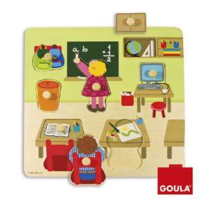 school puzzel noppenpuzzel