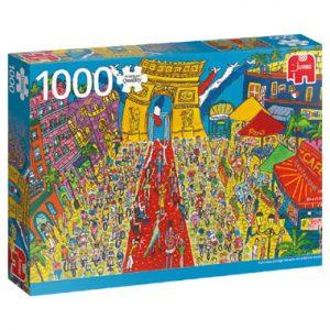 de puzzel duizend Sightseeing