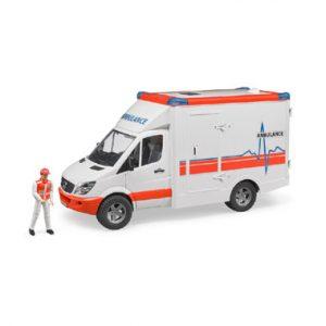 met ambulance bestuurddaar