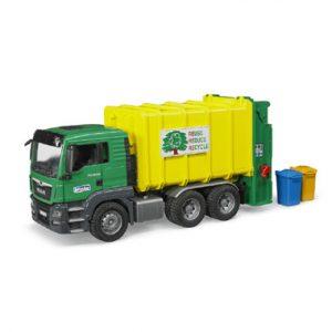 vuilniswagen  met