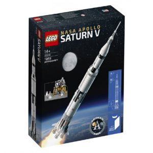 LEGO met V NASA Apollo