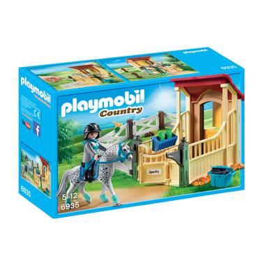 paardenbox met  Speelfiguren