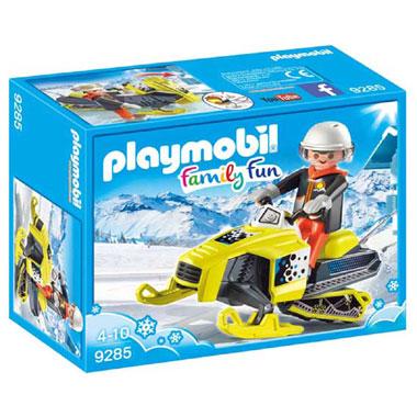 sneeuwscootdaar  Speelfiguren