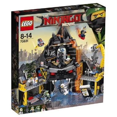 de vulkaanbasis LEGO
