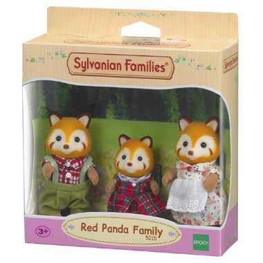 familie Rode Panda