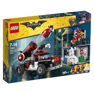 LEGO kanonskogelaanval
