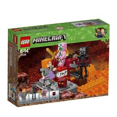 het LEGO Minecraft
