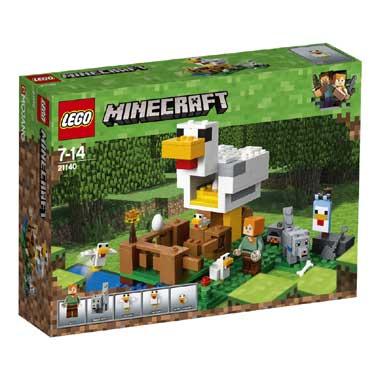Minecraft LEGO kippenhok