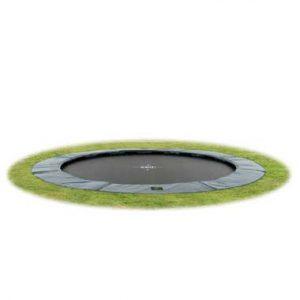 trampoline rond ingegraven