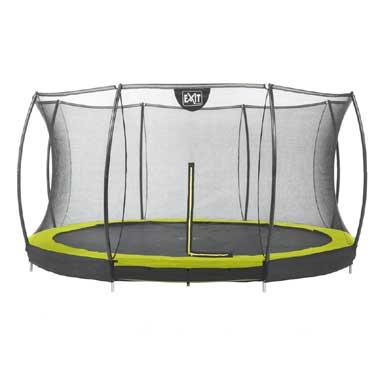 trampoline verlaagde