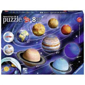 zonnestelsel puzzels