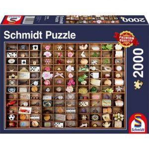 puzzel schatten miniatuur