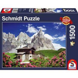 puzzel met dolomieten