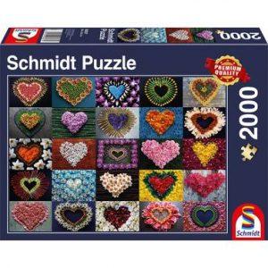 puzzel harten voor